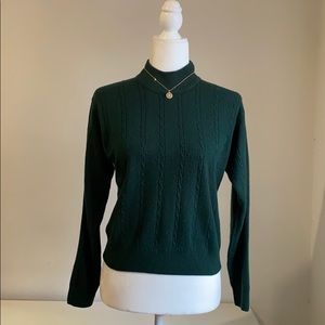 Chelsea Cambell cable knit sweater